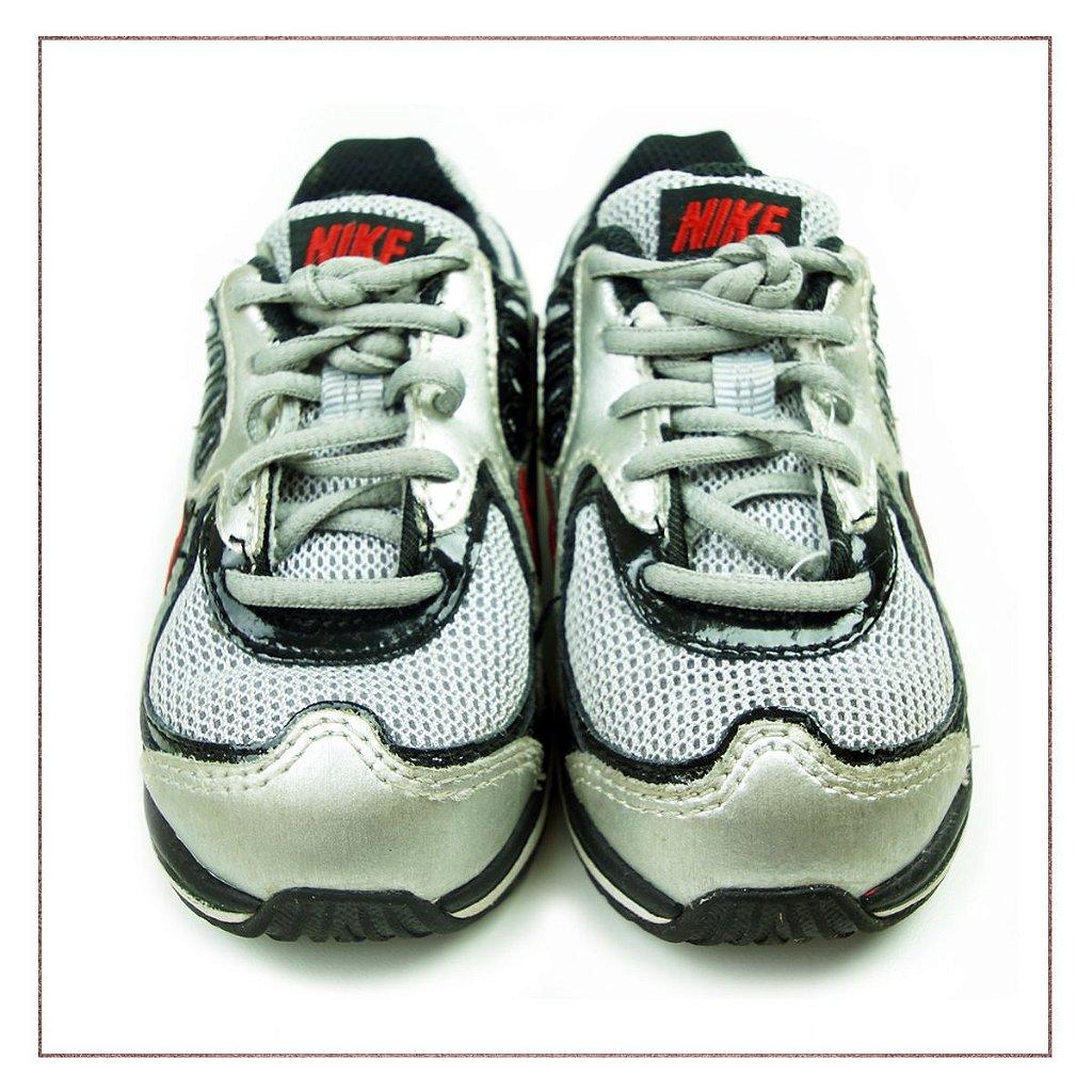 106203b25ba ... Tênis Nike Shox Infantil Preto - Imagem 2 ...