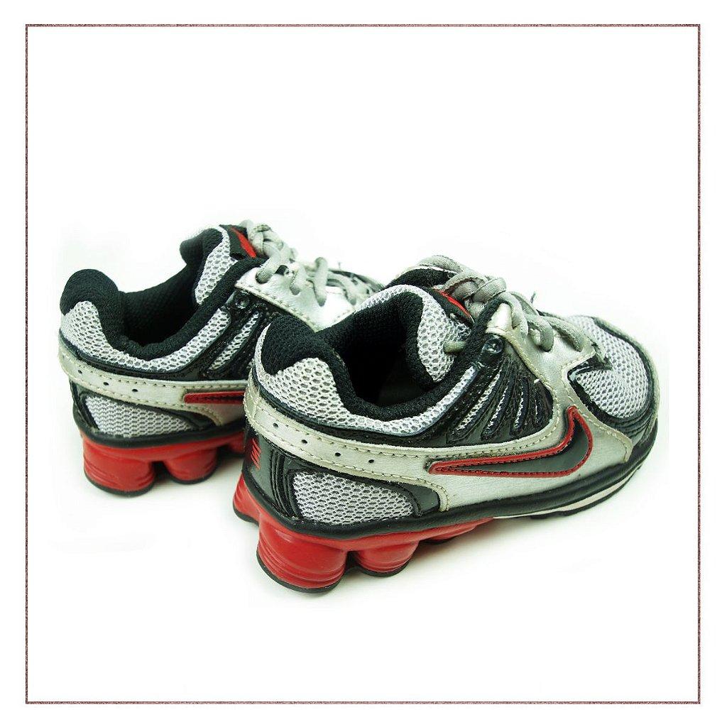 ea08d4693e6 ... Tênis Nike Shox Infantil Preto - Imagem 3