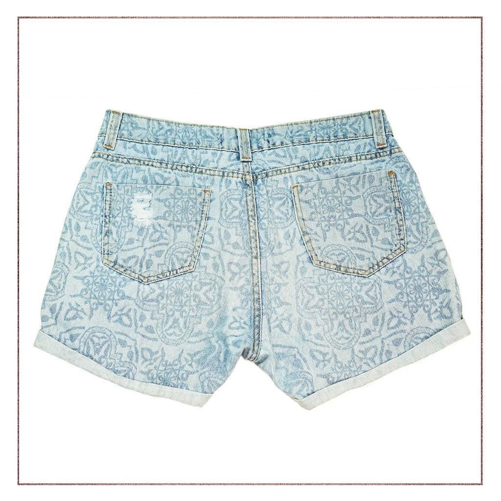 0dbbd0d5022 Shorts Riachuelo Jeans Estampado - Enfim Lucrei