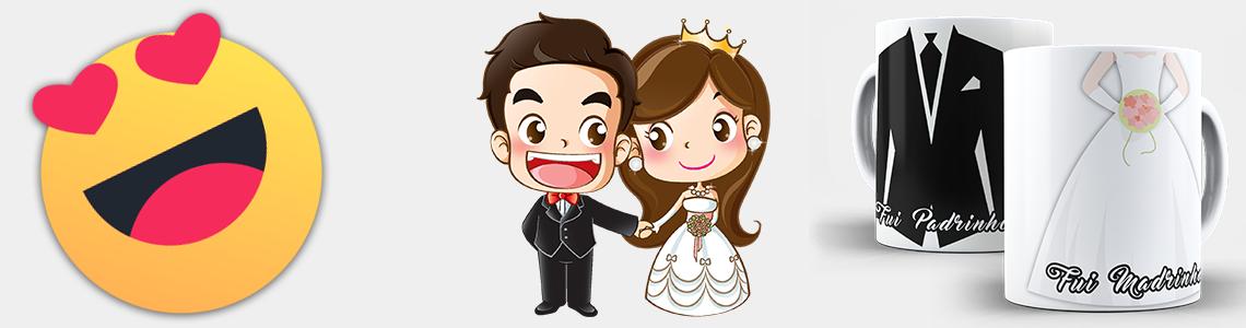 Canecas para Casamento