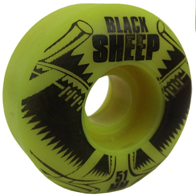 e144cb63a3dfb ... Roda Black Sheep 51mm Iniciante - Imagem 2