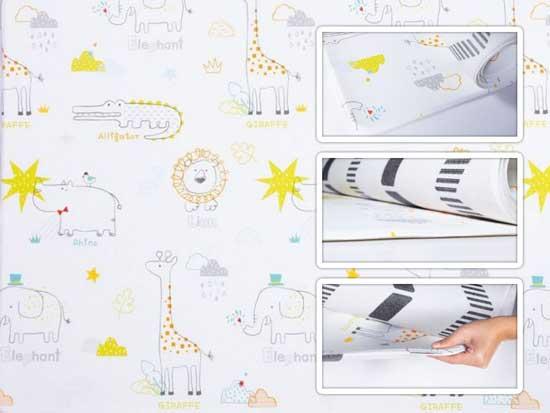 Tapete infantil parklon pvc art deco 190cm x 130cm x 12cm