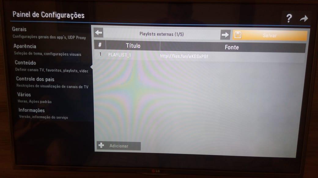 Configurar - SSIPTV - IPTV Mega - Servidor Iptv de lista de