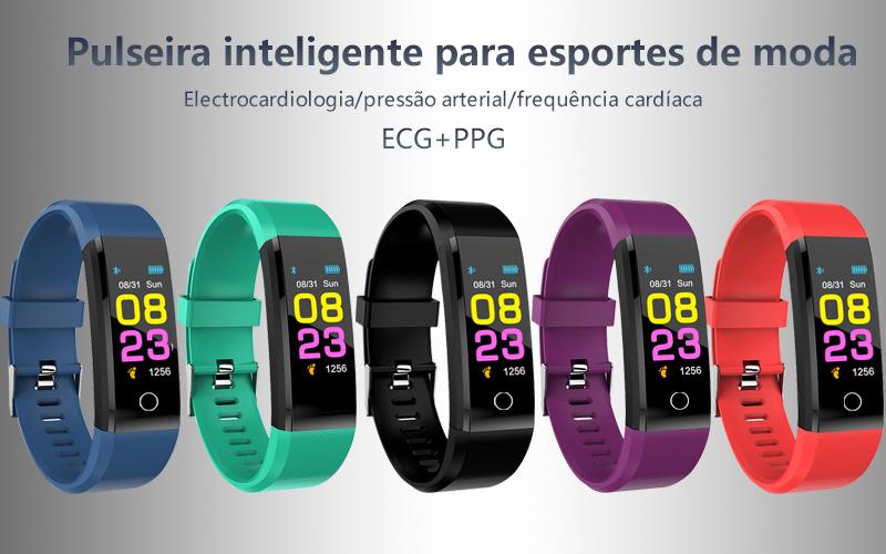 Relógio Fitness Inteligente Sistema Android