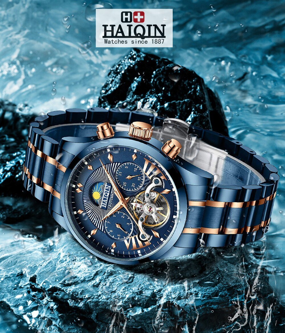 Relógio Automático HAIQIN 8509