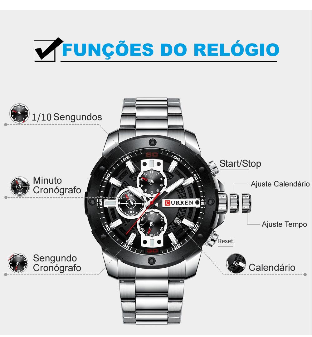 Relógio Curren 8336