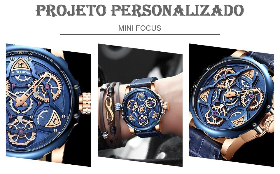 Relógio Design Único MINI FOCUS MF0249G