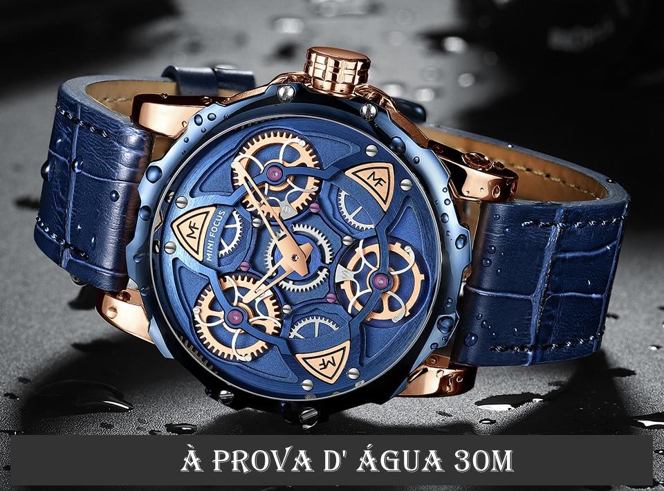 Relógio Design Único MINI FOCUS MF0249G10