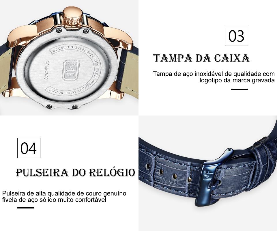 Relógio Design Único MINI FOCUS MF0249G12