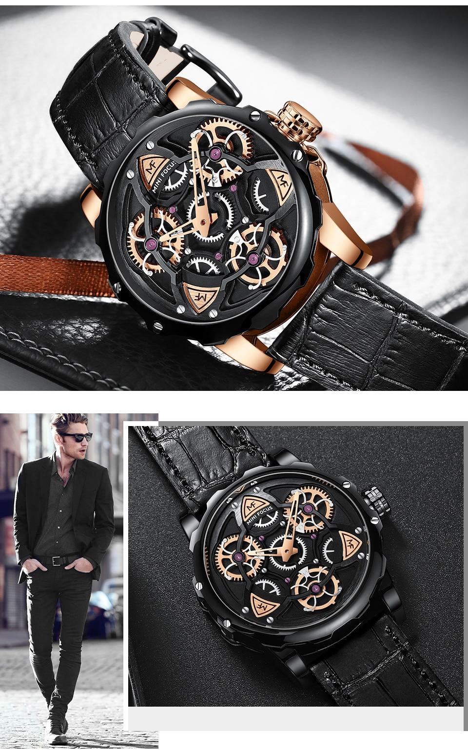 Relógio Design Único MINI FOCUS MF0249G13