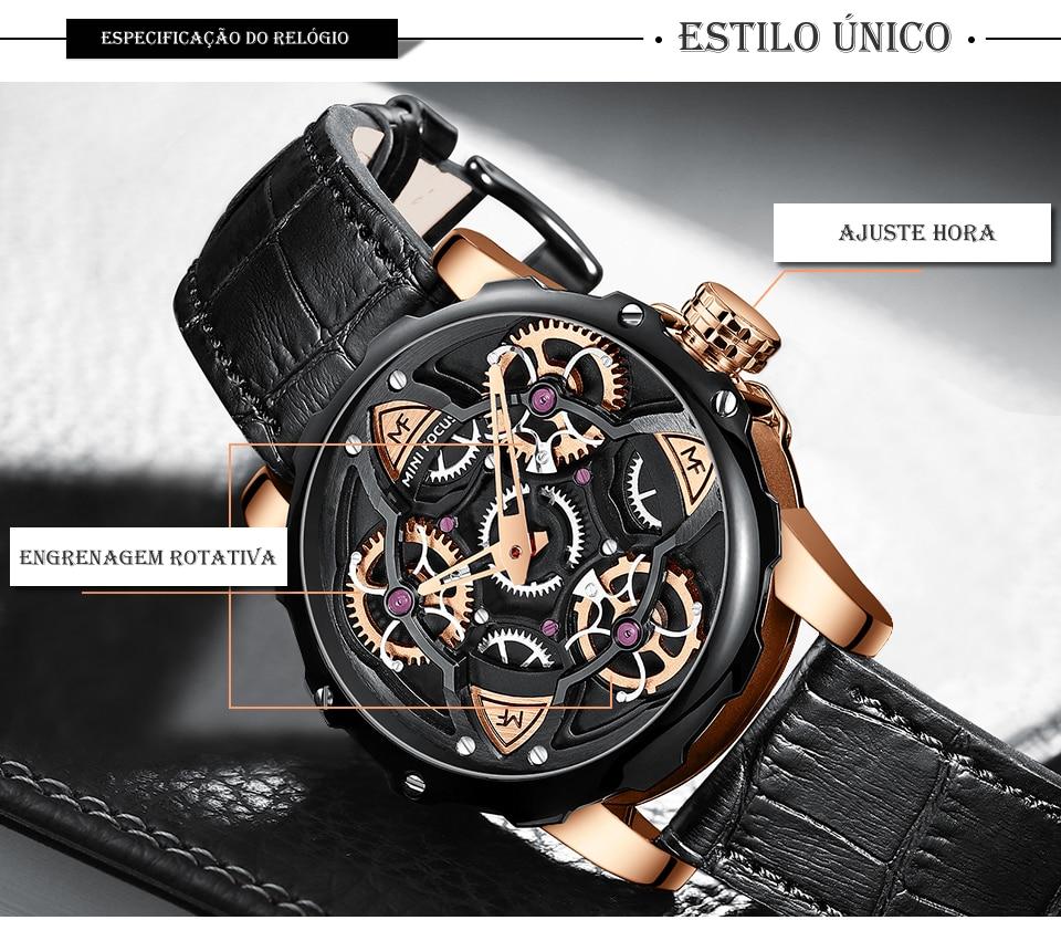 Relógio Design Único MINI FOCUS MF0249G9