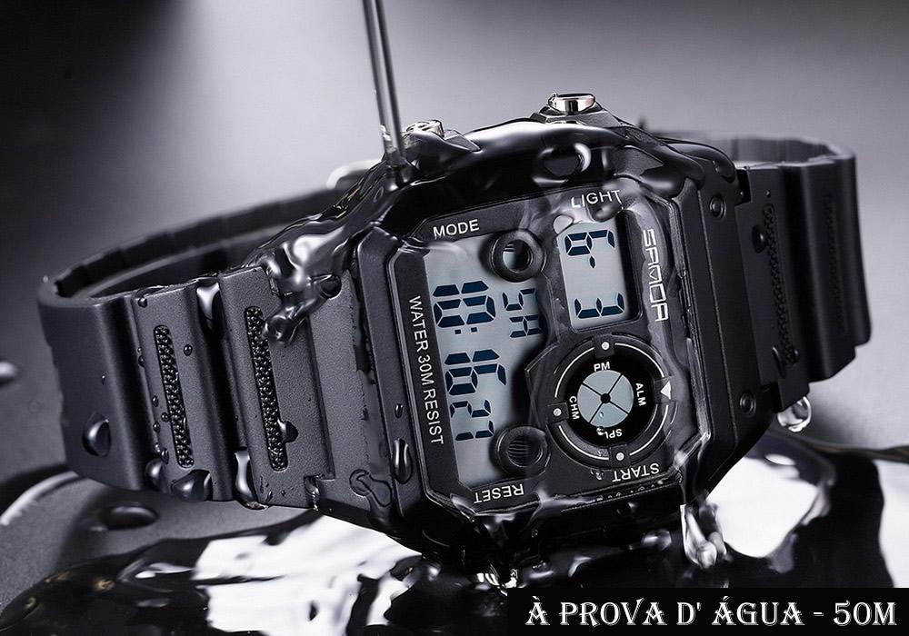 Relógio Digital Esporte Sanda 418 5