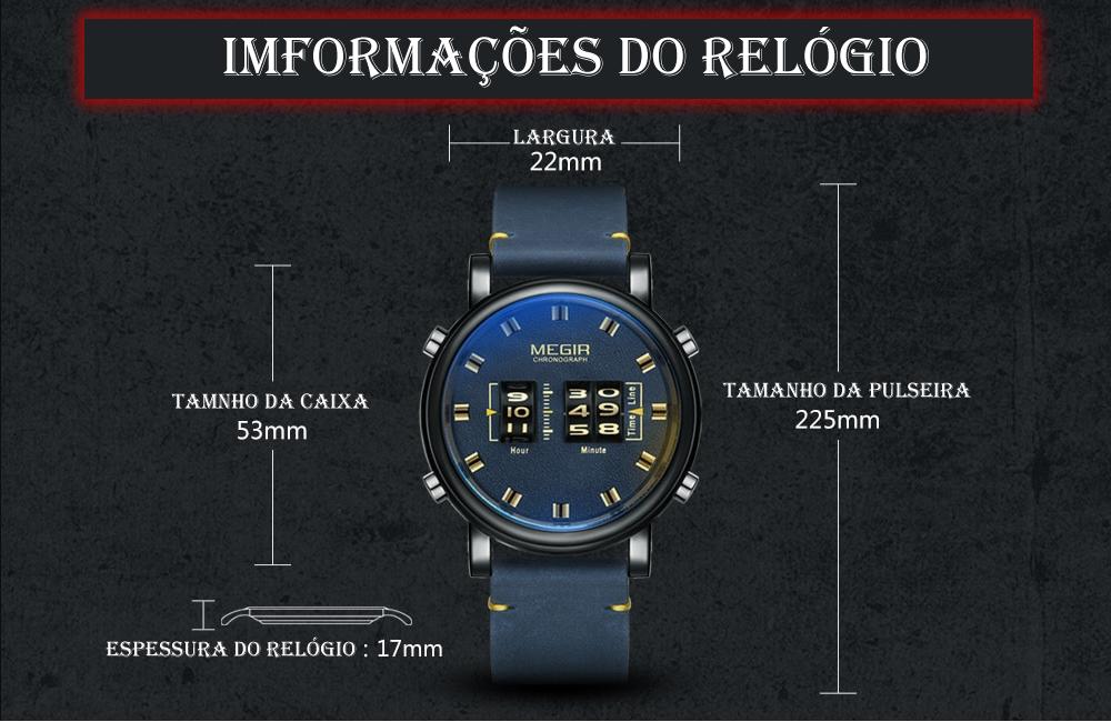Relógio Exclusivo MIGER 2137