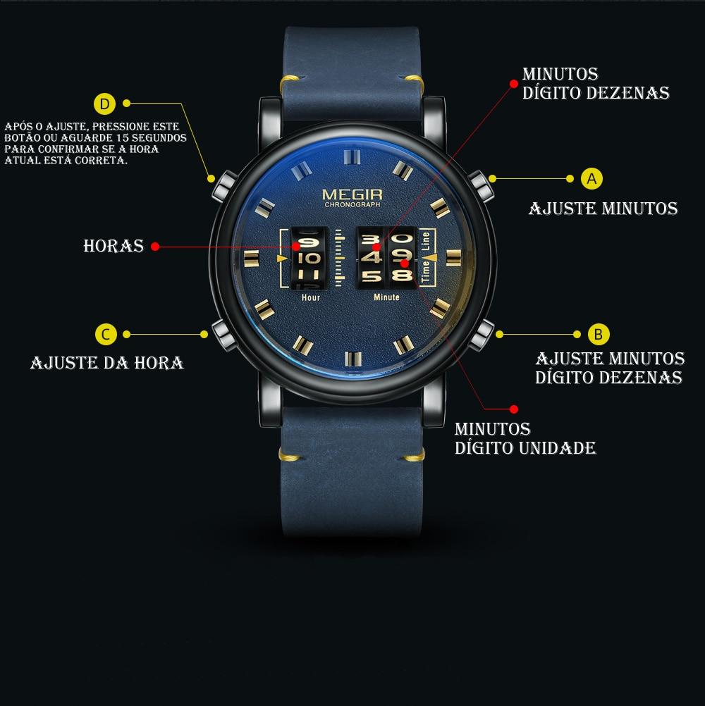 Relógio Exclusivo MIGER 2137 2