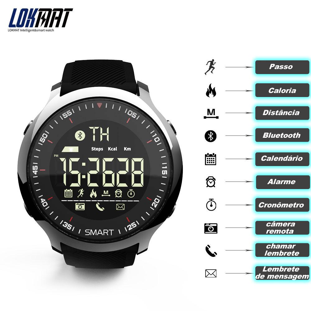 Relógio Inteligente Lokmat