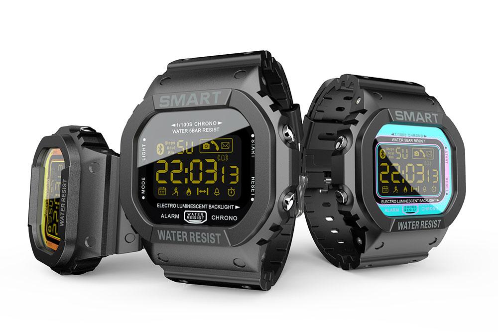 Relógio Inteligente Para Android & IOS Lokmat 50m