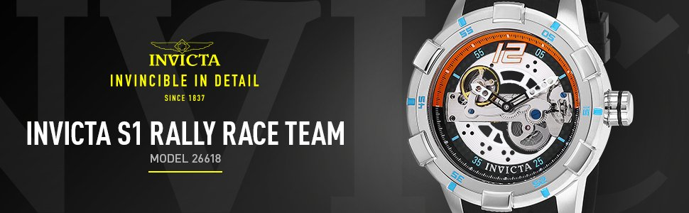 Relógio Invicta Masculino S1 Rally 26618 Automático