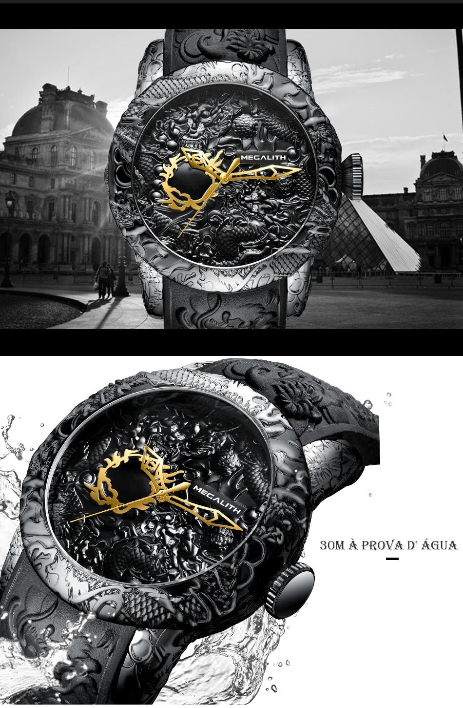 Relógio Masculino Dragão Megalith 8041M 3