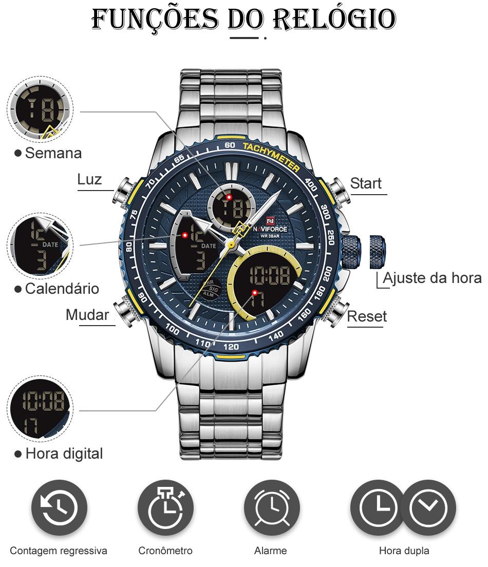 Relógio Naviforce NF9182 Clássico 2