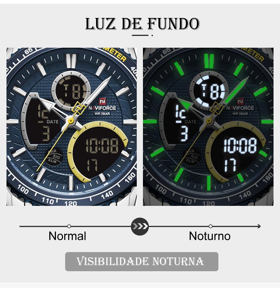 Relógio Naviforce NF9182 Clássico 4