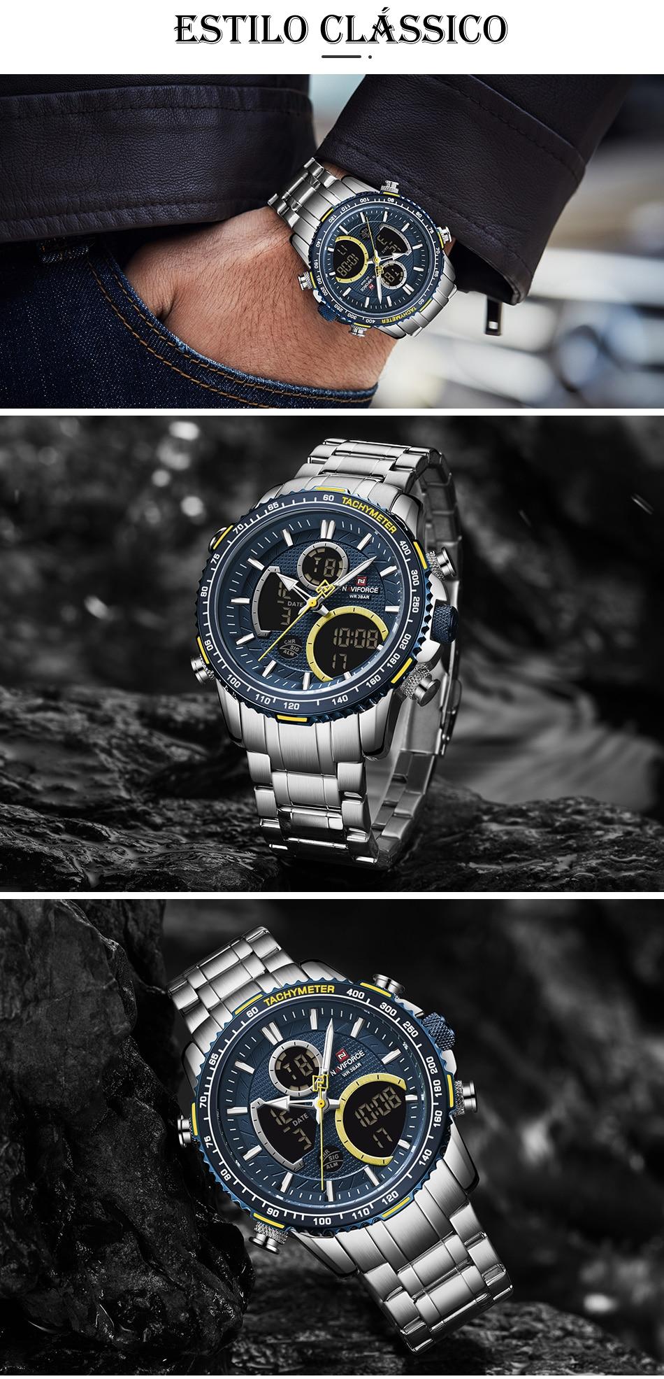Relógio Naviforce NF9182 Clássico 6