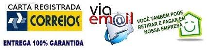 Formas de envio: Correios através de PAC ou retirar no Instituto. Por E-mail - Orientações de acesso ao campus virtual.