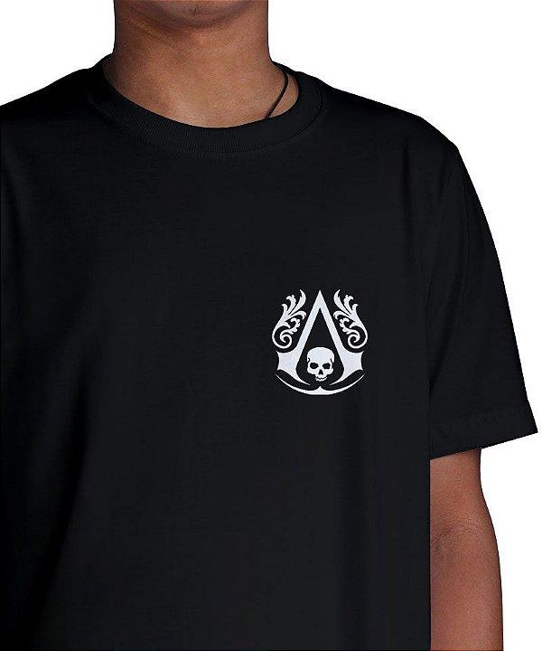 Camiseta Black Flag