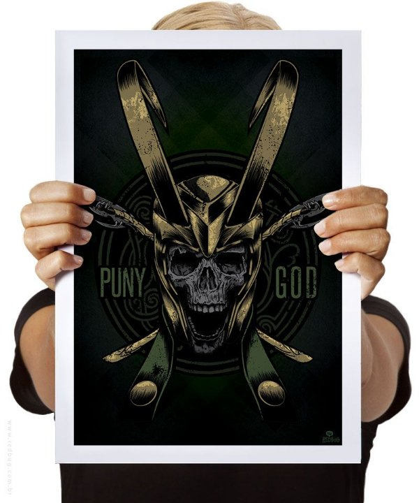 Poster Puny God