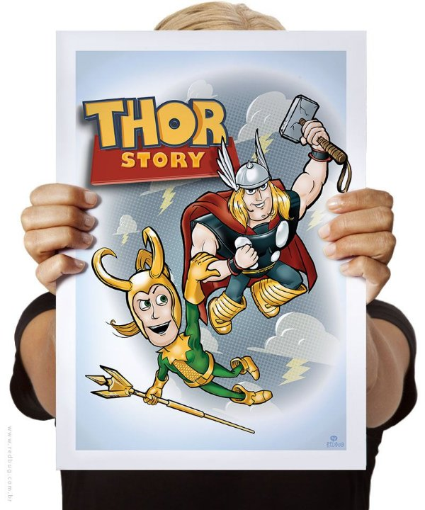 Poster Thor Story