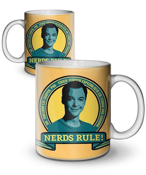 Caneca Nerds Rule