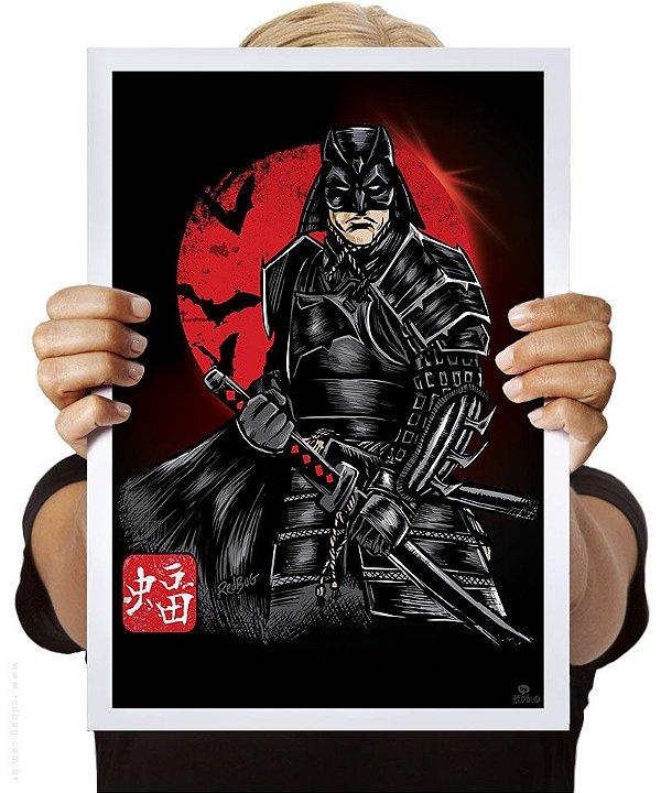 Poster Samurai das Trevas