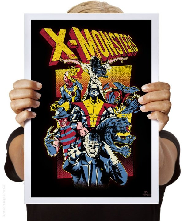 Poster X-Monsters
