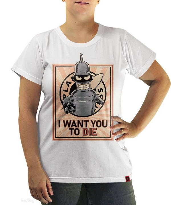 Camiseta I Want You to Die