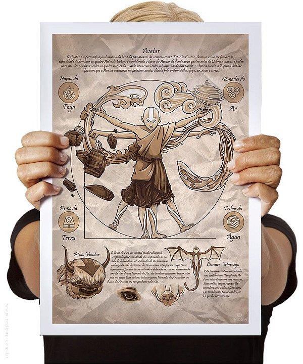 Poster Aang Vitruviano