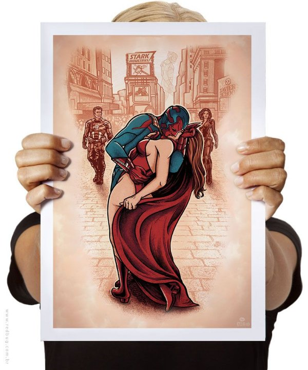 Poster O Beijo de Wanda