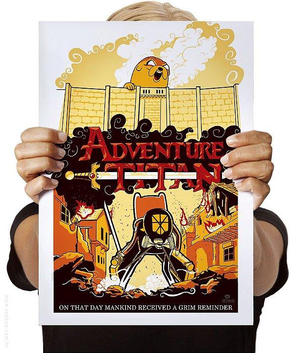 Poster Adventure Titan