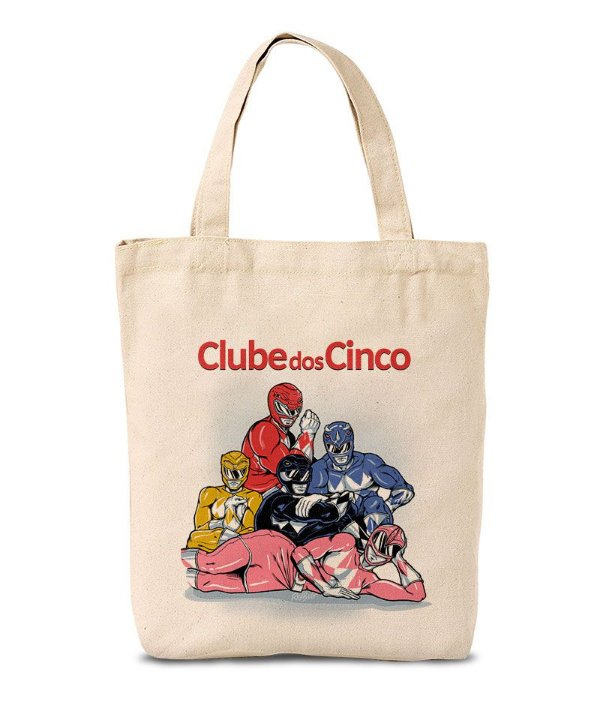 Ecobag Clube dos Cinco