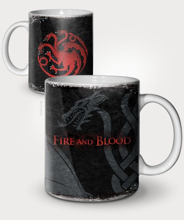 Caneca Fire and blood