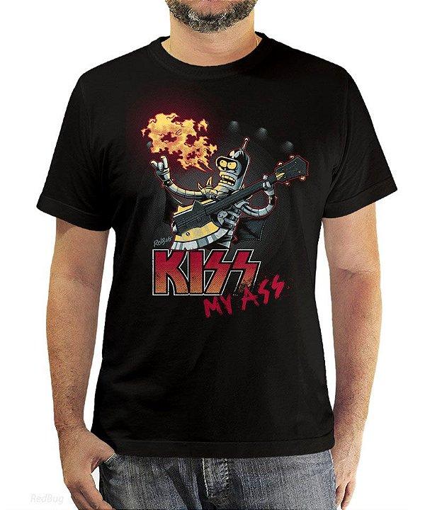 Camiseta Kiss My Ass