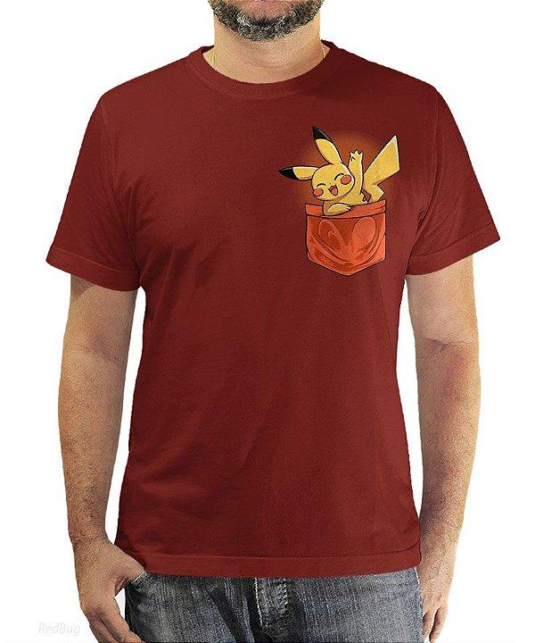 Camiseta Pokétmon Pikachu
