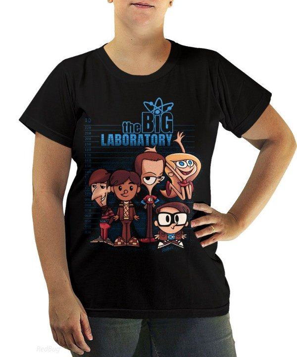 Camiseta The Big Laboratory