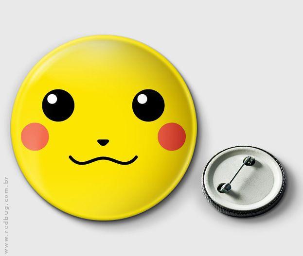 Botton Pikachu