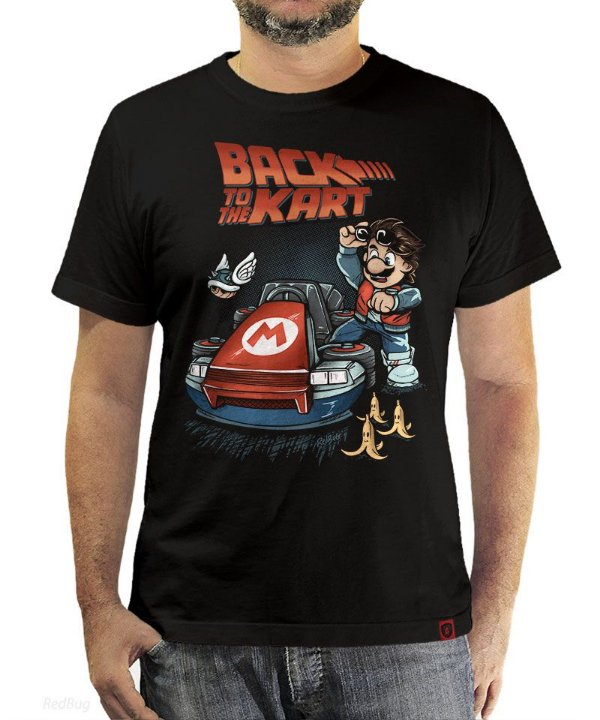 Camiseta Back To The Kart