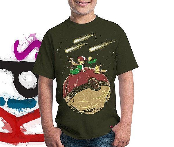Camiseta Pequeno Pokémestre