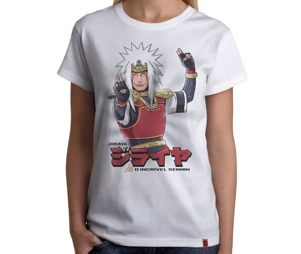 Camiseta Ninja Jiraya
