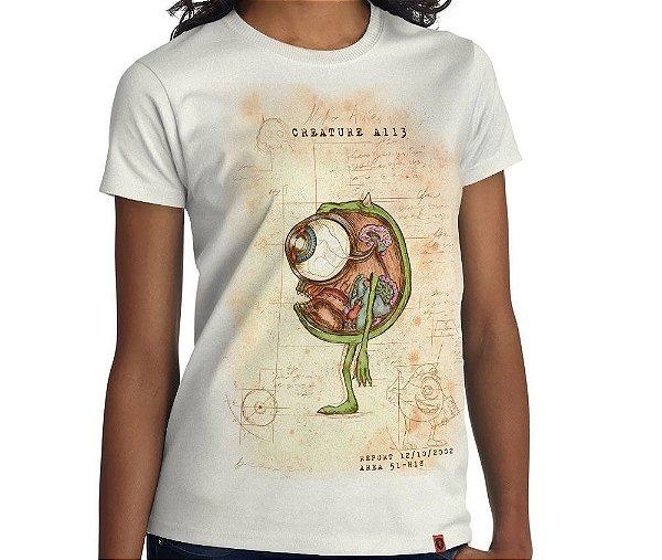 Camiseta Dossiê Wazowski
