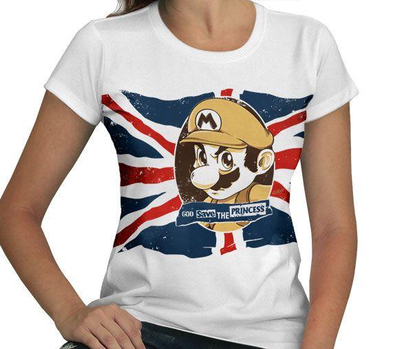 Camiseta God Save the Princess