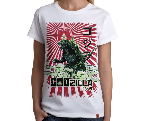 Camiseta Godzilla