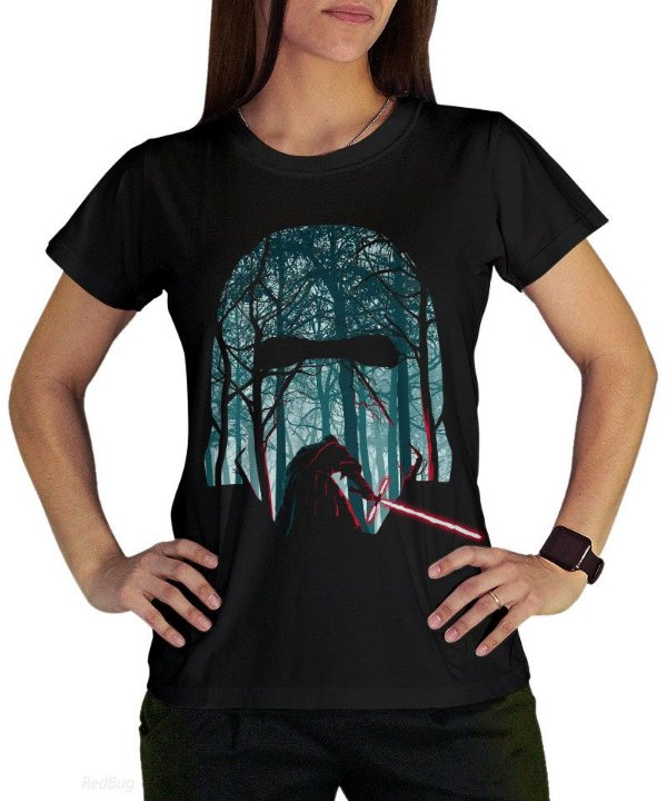 Camiseta Kylo Ren