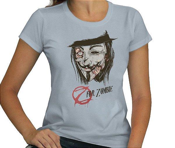 Camiseta Z for Zombie